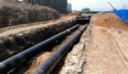 Монтаж тепловой сети в условиях городской инфрастуктуры
