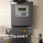 Тепловычислитель с розеткой для принтера